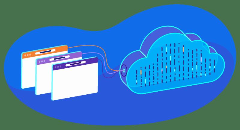 Alojamiento en la nube pública, privada e híbrida