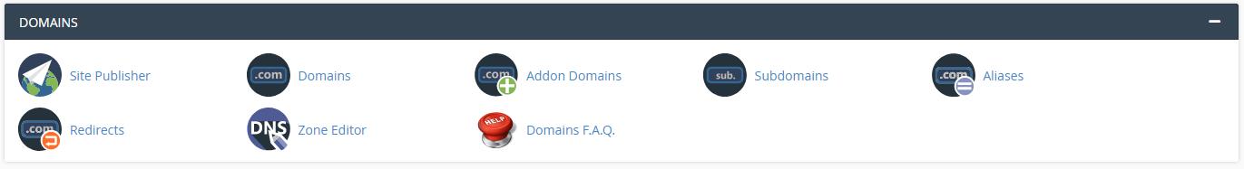 4. Cree y agregue nombres de dominio / subdominios
