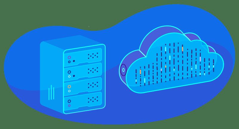 Alojamiento en la nube híbrida