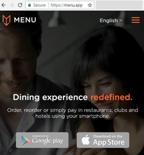 Los primeros en adoptar menu.app