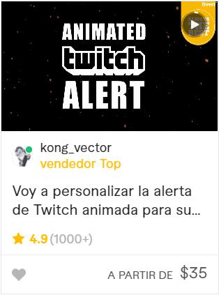 crear alertas para twitch