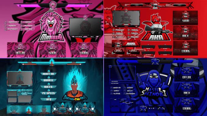 logos y banners para perzonalisar tu pantalla de twitch