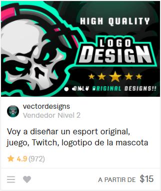 creo tu logo gamer
