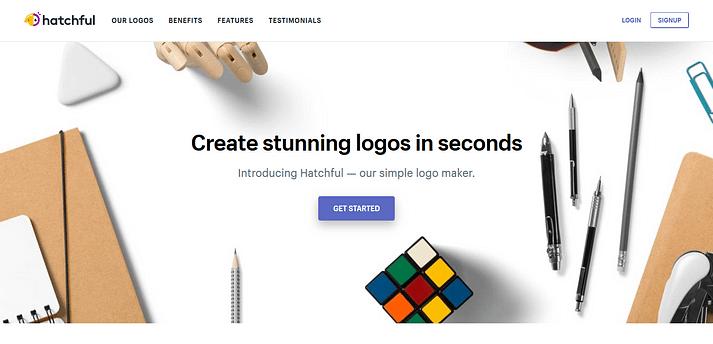 Mejores Creadores de Logos en Línea - Hatchful de Shopify