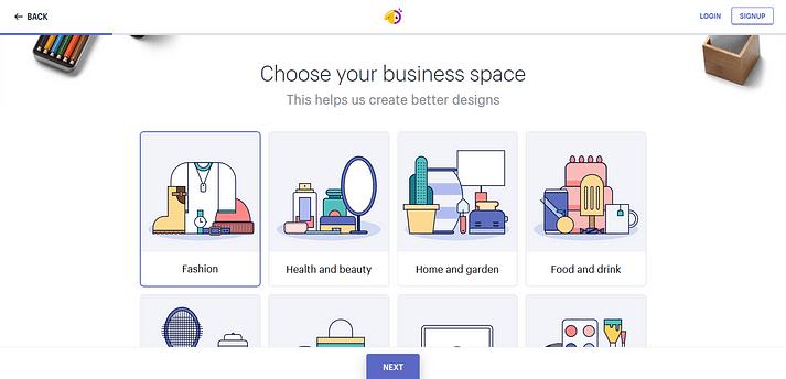 Crea un logo con Hatchful de Shopify